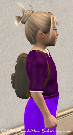 backpack headaches in children
